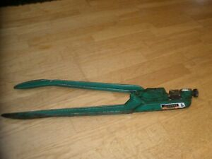 Greenlee 1981 Manual Indentor Dieless Crimping Tool Aluminum Copper