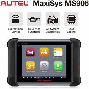 Autel Maxisys Ms906 Automotive Diagnostic Scan Tool Code Reader Adv Mk908 Ds808