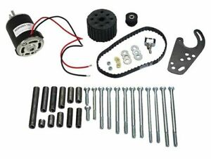 Moroso Electric Water Pump Drive Kit Incl 12 Volt Electric Motor Universal 63750