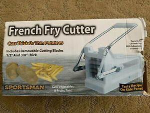Sportsman French Fry Cutter Cuts Thick Thin Potatoes Cut Vegetable Fruits too
