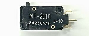 Mulon Mt 2001 Spdt on on Pin Plunger Micro Switch 3a 250v Ac