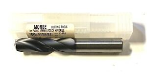 Morse 16mm Solid Carbide Drill Tialn Coolant Thru Short Length Drill