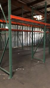 Pallet Rack 12 X 42 Upright Frame Optional Pallet Beam And Wire Deck