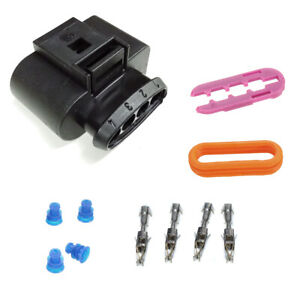 Ignition Coil Female Connector Repair Kit For Audi Vw 1j0 973 724 1j0973724