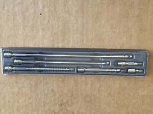 New Sealed Snap On 6pc 1 4 Dr Wobble Extension Set In Tray 106atmxw