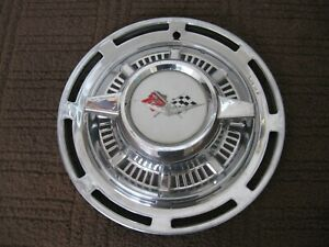 1959 Chevrolet Spinner Hubcap Wheel Cover Bel Air Impala Biscayne 1959 Chevy Gm