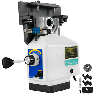 Power Feed X axis 200rpm 450in lb For Bridgeport Type Milling Machine 220v