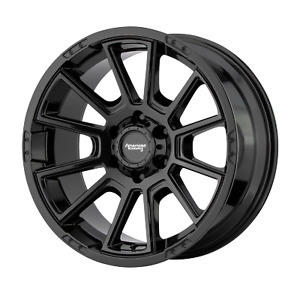 4 Wheels Rims 18 Inch American Racing Ar933 18x8 5 18mm Gloss Black 6x5 5