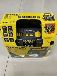 Stanley J309 Portable Power Car Vehicle Charger Booster Jump Starter 600 Amp