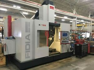 Used Fidia K199 5 Axis High Speed Machining Center Milling Machine Mold Shop Cnc