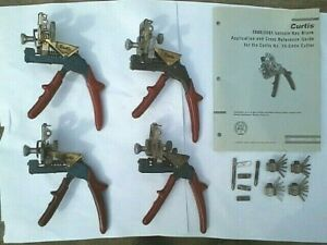 4 Curtis Model 15 Code Clippers Cutters Accessories