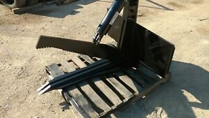 Hydraulic Bobcat Shear Universal Fits All Quick Attach Skid Steers