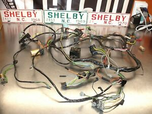 1966 66 Ford Mustang Gt Shelby Gt 350 Dash Instrument Panel Wiring Harness Nice