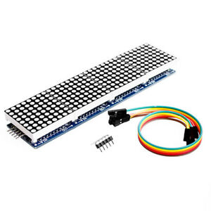 Pw_ Co_ Max7219 Microcontroller 4 In 1 Display 5p Line Module For Arduino Dot