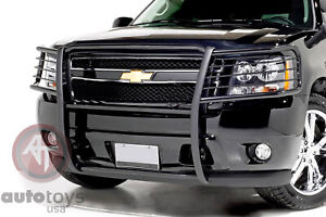 Atu Fits Grill Brush Guard Black Fits 07 14 Chevy Suburban 1500 Avalanche Tahoe
