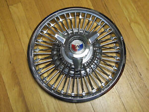 1964 Ford Galaxie And 1964 1 2 Mustang Wire Spinner Hubcap Wheelcover