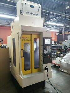 Used Fanuc Cnc Vertical Drill And Tap Center Mill Big Plus Bt30 Spindle 24k Rpm