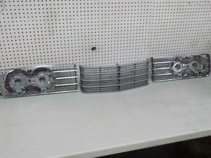 1965 Lincoln Continental 3 Piece Front Grill