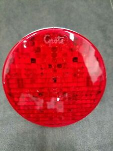 G4002 Grote Red High Count 4 Led Stop Tail Turn Lights