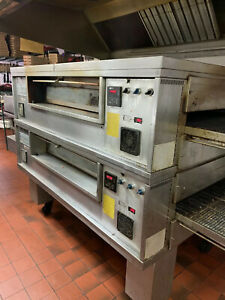 Pizza Oven Double Stack Middleby Marshall Ps570s Conveyor Gas