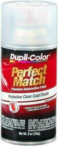 Perfect Match Clear Top Coat Aerosol Spray Car Paint Automotive Auto Fast Drying
