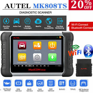 Autel Scanner Complete Tpms Diagnostic Tool Abs Srs Epb Bms Dpf Obd2 Code Reader