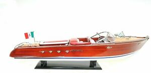 Riva Aquarama Exclusive Edition Speed Boat 35 Rc Ready Model Ship Assembled