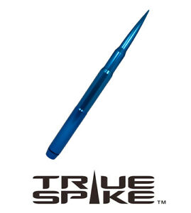 True Spike 12 Fat Bullet Spiked Antenna Blue For 07 Chevy Silverado 1500