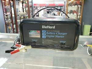 Sears Diehard Fully Automatic Battery Charger 10 2 50 Amp Model 200 71222 Tested
