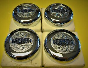 4 Nos Cragar Center Caps Wheel Chevy Camaro Chevelle Nova Pontiac Gto 9090