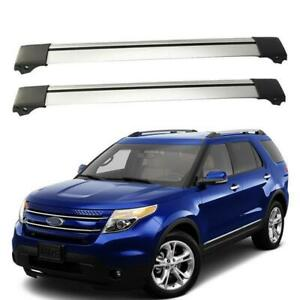 Replacement Top Roof Rack T slot Cross Bar Bike Carrier For 11 15 Ford Explorer