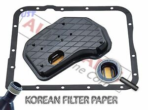 Automatic Transmission Service Kit Filter Rubber Pan Gasket For Gm 4l65e 4l70e