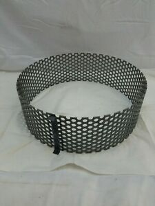 10 Gauge 1 2 Perforated Hole 18 Dia X 6 Steel Cylinder