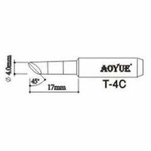 Aoyue T4c Replacement Soldering Iron Tips