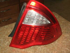 2010 2011 2012 Ford Fusion Tail Light Passengers Side Right