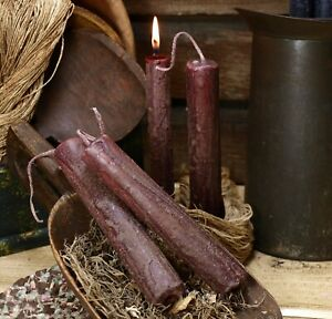 1 Diameter Primitive Rustic Grungy Handmade Candles Spice Everything Nice