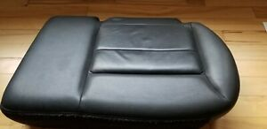 2008 2012 Ford Escape Black Leather Rear Seat Cushion Bottom Left Driver Side