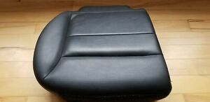 2008 2012 Ford Escape Black Leather Rear Seat Cushion Bottom Right Passenger