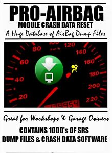 Pro Airbag Srs Clear Dump Files Crash Data Software For All Cars