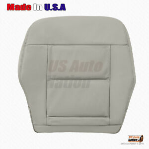 2012 2013 Mercedes Benz E350 E550 Driver Side Bottom Perforated Seat Cover Gray