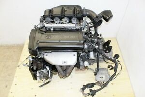 Jdm Toyota Levin 4a Ge Black Top Engine 5 Speed Manual Transmission 4age Corolla