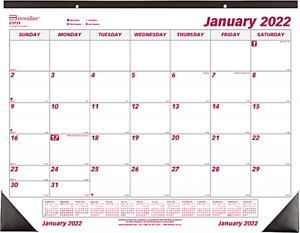 Brownline 2022 Monthly Desk Pad Calendar 22 X 17 Inches c1731 20 14 9 Oz New