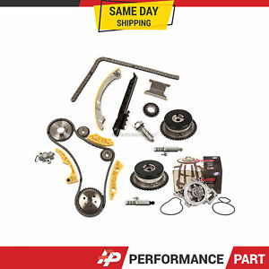 Timing Chain Kit Vct Selenoid Actuator Gear Water Pump For Gm Ecotec 2 2l 2 4l