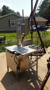 Hollymatic Hi yield 16 5000 Meat Saw 3phase Plus 270 Extra Saw Blades