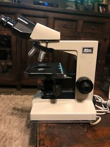 Nikon Labophot Microscope W 3 Objectives