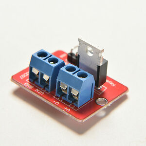 Top Mosfet Button Irf520 Mosfet Driver Module For Arduino Arm Raspberry Cjb