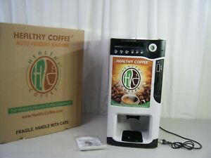 Brand New Healthy Coffee Coin operated Auto Vending Machine