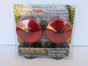 Custer Atl20a Magnetic Base 20ft Chord Towing Lights