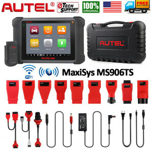 Autel Maxisys Ms906ts Pro Tpms Scanner Diagnostic Tool Active Test Ecu Coding Us