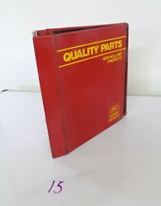 Ford New Holland Quality Tractor Parts 3 Post Binder 4 6
